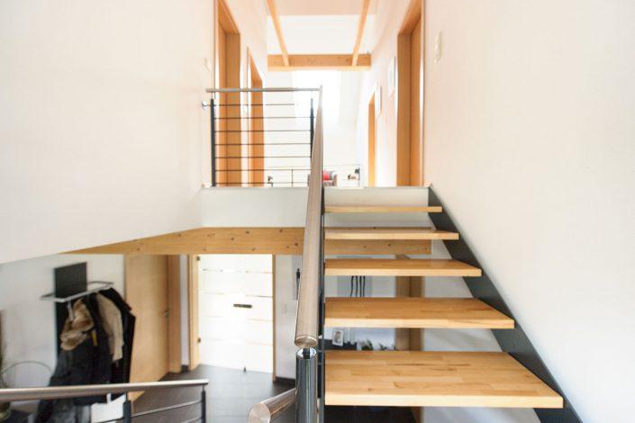 Treppenaufgang zur Gallerie
