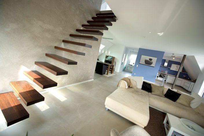 Offener Wohnraum mit Loftcharakter